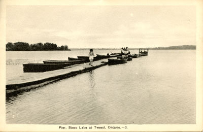 Pier at Stoco Lake Tweed